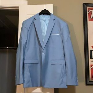 Other - MOVING SALE! Men's Baby Blue Blazer. 41R